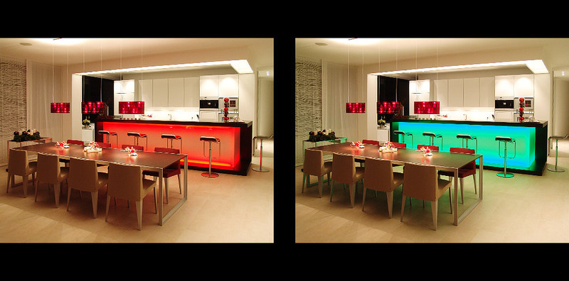 wohnraum mit led beleuchtung li ex regensburg. Black Bedroom Furniture Sets. Home Design Ideas